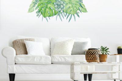 Tropical Garden Wall Decal Set