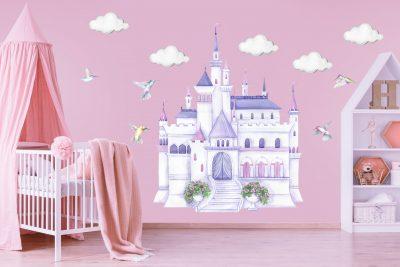 Disney Princess Castle Decal Set