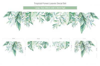 Tropical-Forest-Leaves-Decal-Set-02