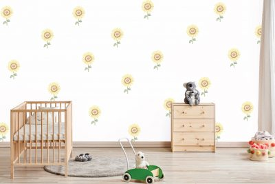 Sunflower-mini-Wall-Decals
