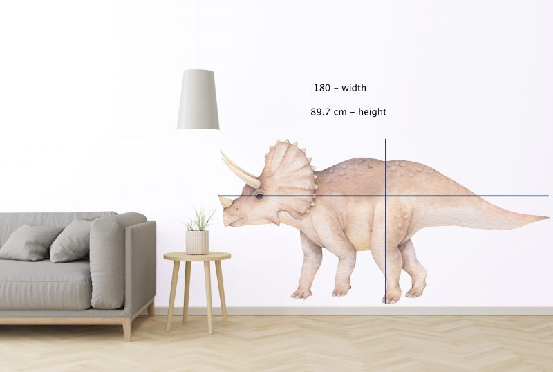 Large - TRICERATOPS 180CM-size