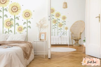 Sunflower-Large-Full-set-wall-decals_01