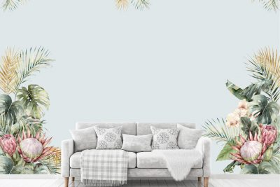 Tropical-Palm-Leaves-Protea-&-Orchids-Decals_01