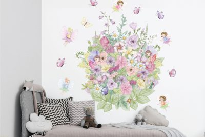 Fairy Garden Wall Decals Set