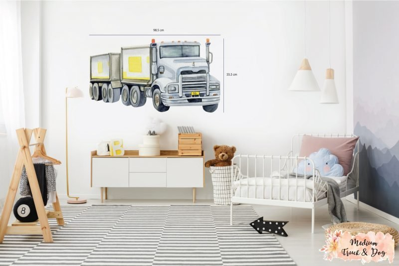 Truck&Dog_Medium_Size