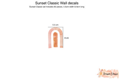 Sunset Classic Wall decals_02