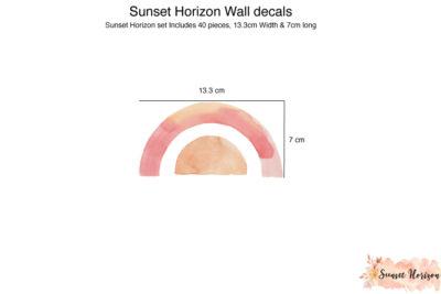 Sunset Horizon Wall decals_02